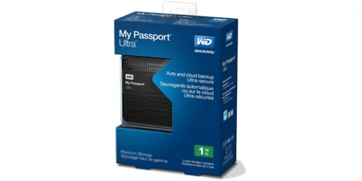 WD 1TB Black My Passport Ultra