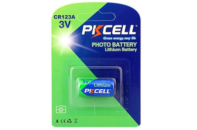 pkcell cr123a 1