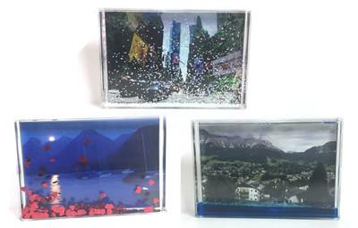 תמונה בתוך מסגרת מים + הדפסת התמונה