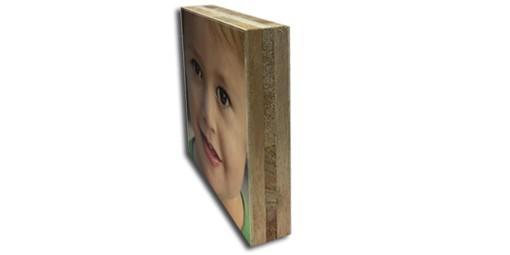 בלוק עץ בגדלים שונים + הדפסה על המוצר