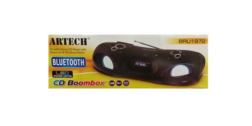 מערכת שמע רדיו דיסק MP3 כולל ARTECH BRU1972 Bluetooth