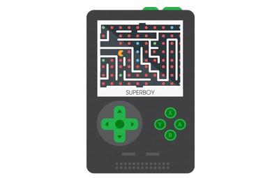 קונסולת משחקים סופר בוי SAMVIX SUPERBOY